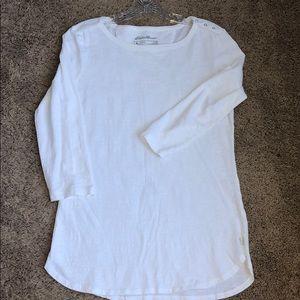 Eddie Bauer 3/4 sleeve shirt